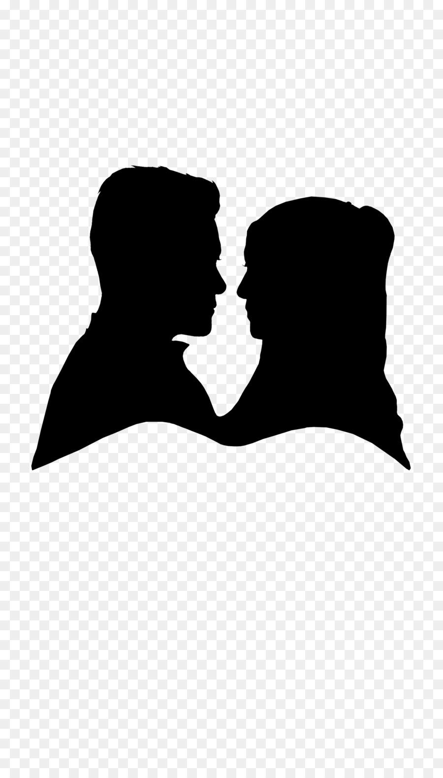 900x1580 Wedding Invitation Silhouette