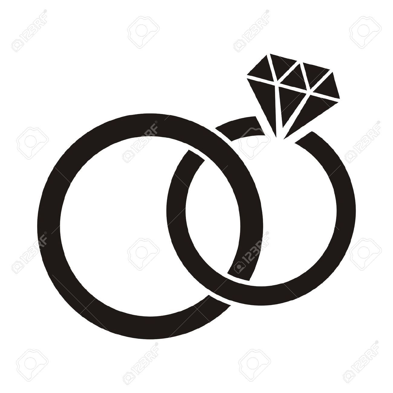 1300x1300 Wedding Ring Silhouette