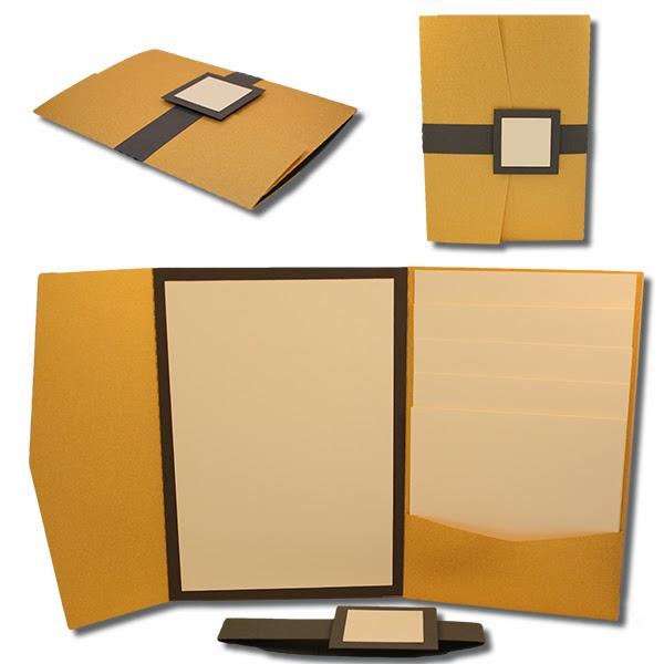 600x600 Bits Of Paper 5x7 Wedding Invitation Sets