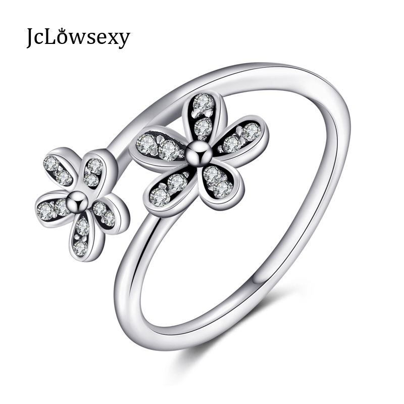 800x800 Sparkling 925 Sterling Silver Open Silhouette Floral Motif Two