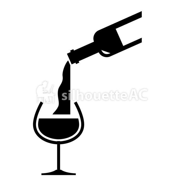 750x750 Free Silhouette Vector Sake, To Pour, Icon