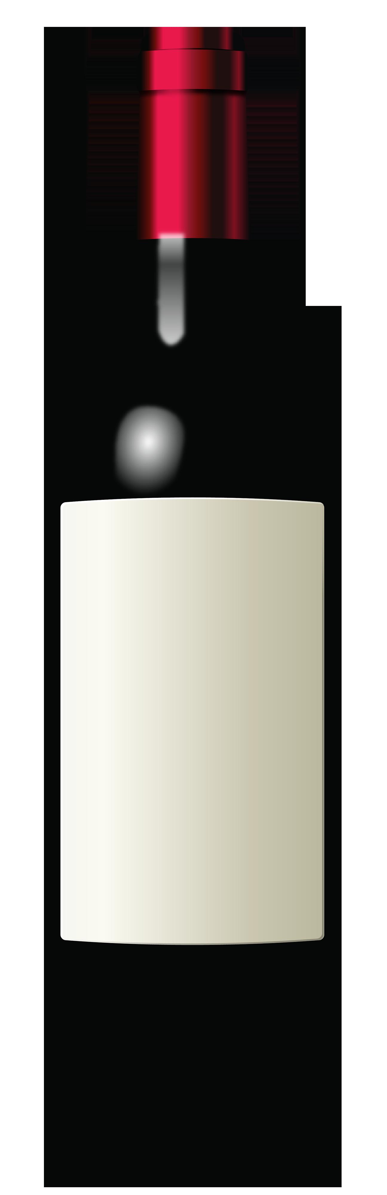 1295x4000 Wine Bottle Clipart