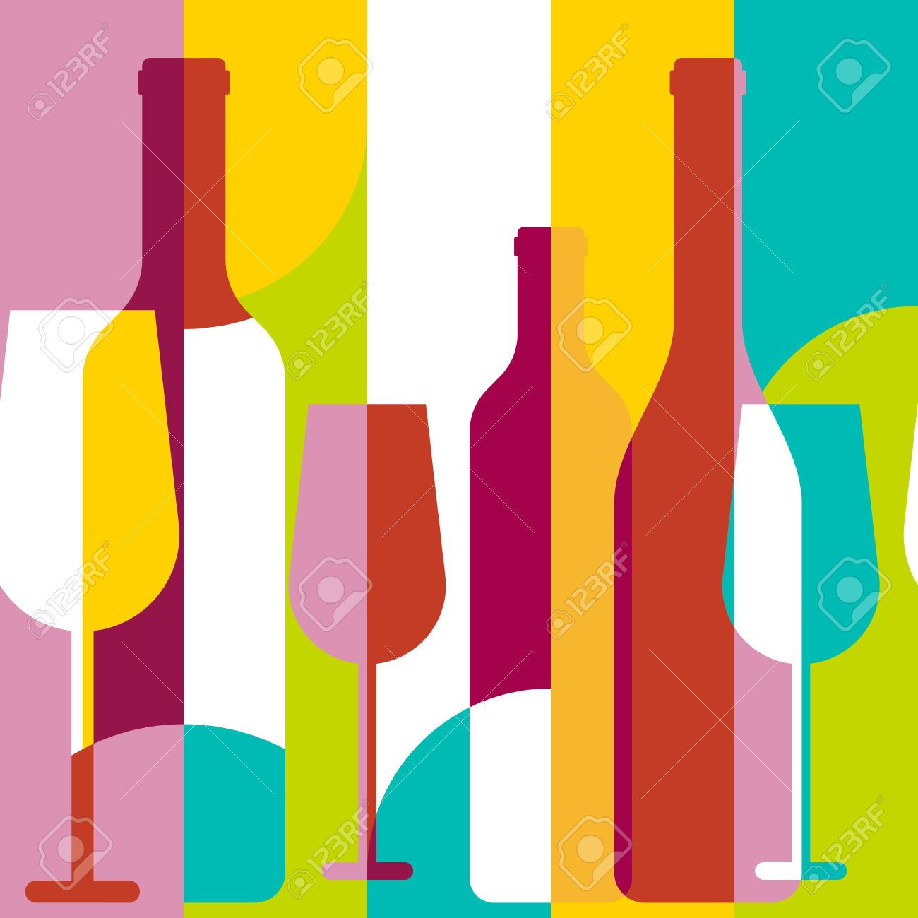 1300x1300 Wine Bottle Silhouette Stock Photos Images, Royalty Free Wine