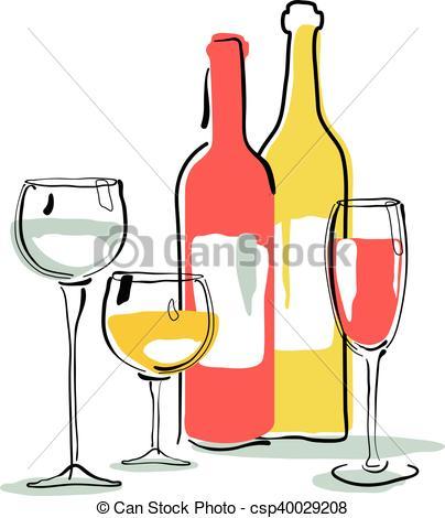 404x470 Wine Bottle, Glass Silhouette Vector Clipart
