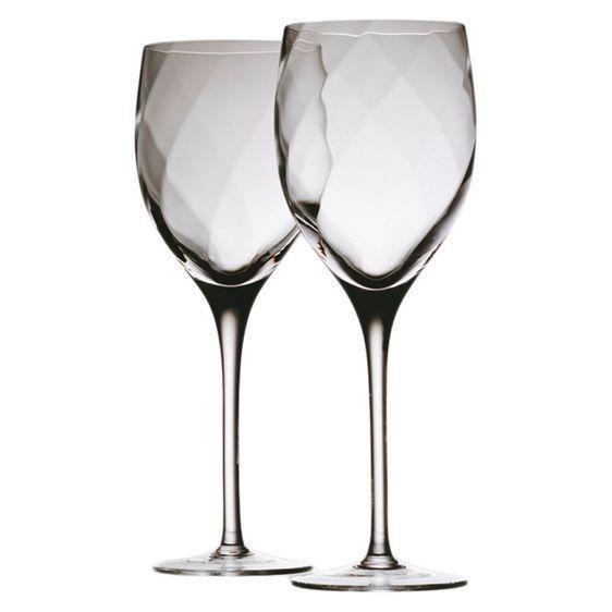 562x562 Krosno Silhouette 320ml Goblet Wine Glass Set Of 2 Ebay