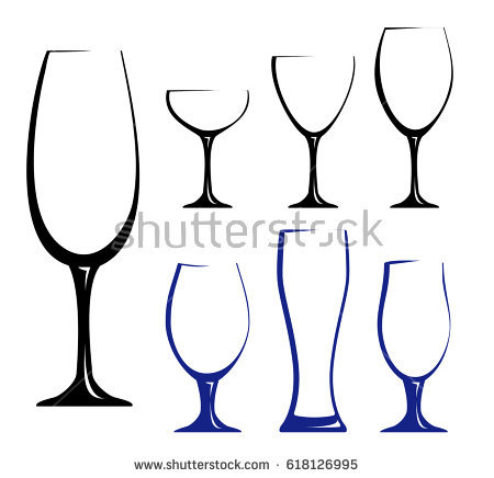 450x436 Drawn Glasses Silhouette