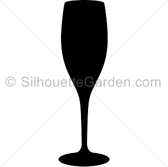 336x334 Champagne Glass Silhouette Clip Art. Download Free Versions