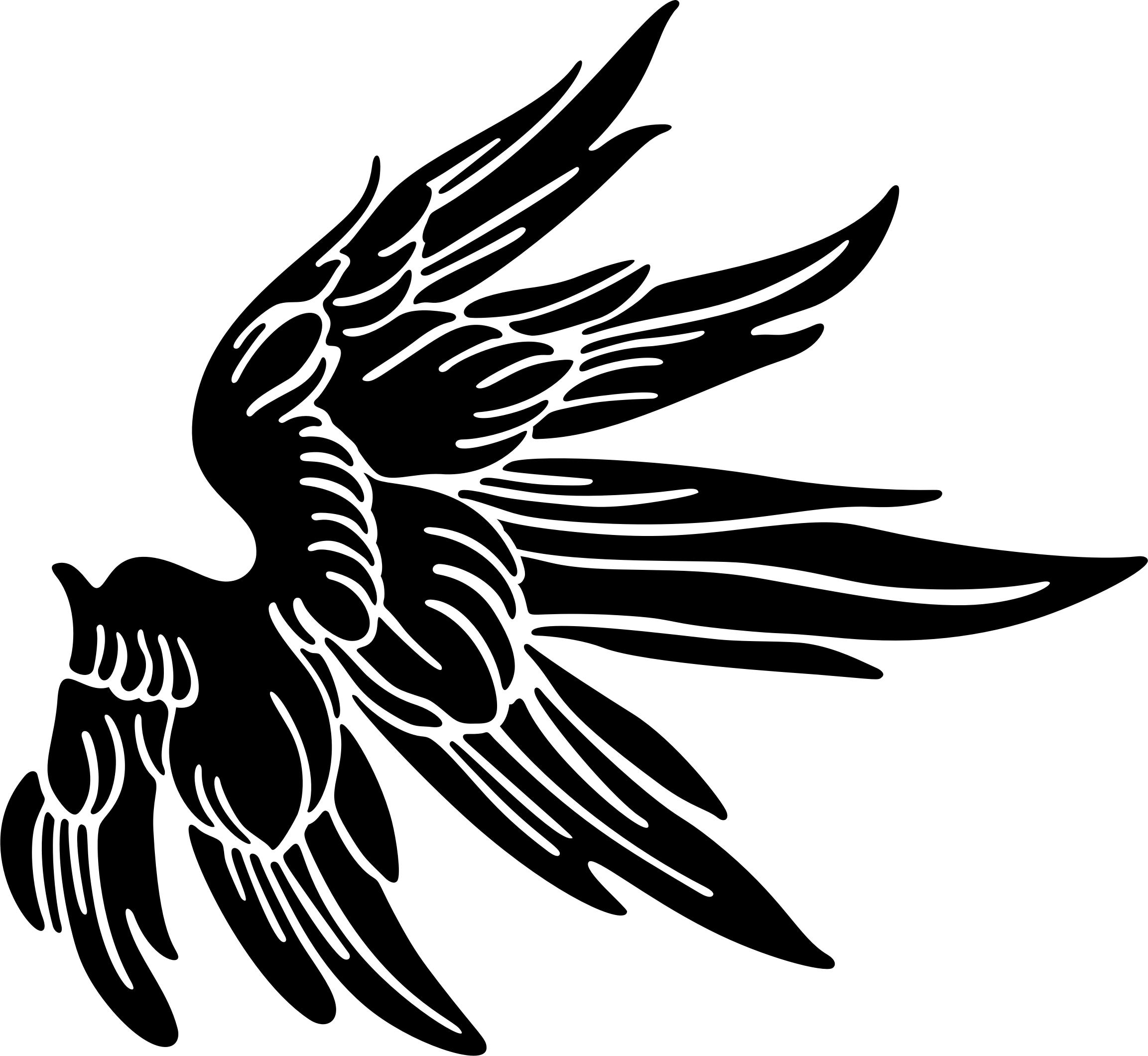 2305x2120 Angel Wings Silhouette Icons Png