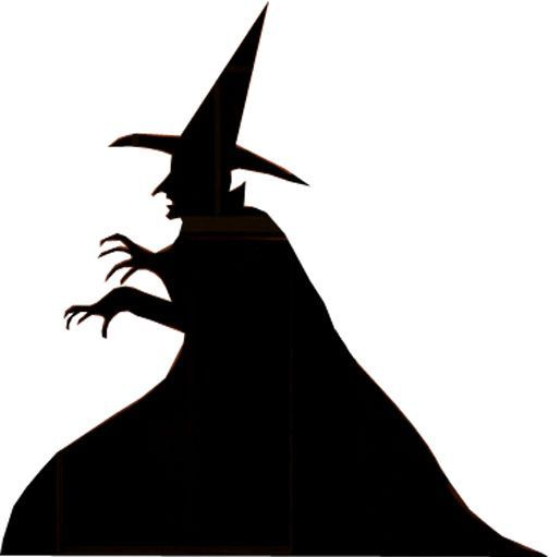 504x511 Pin By Cathrina Steven On Schablonen Witch Silhouette
