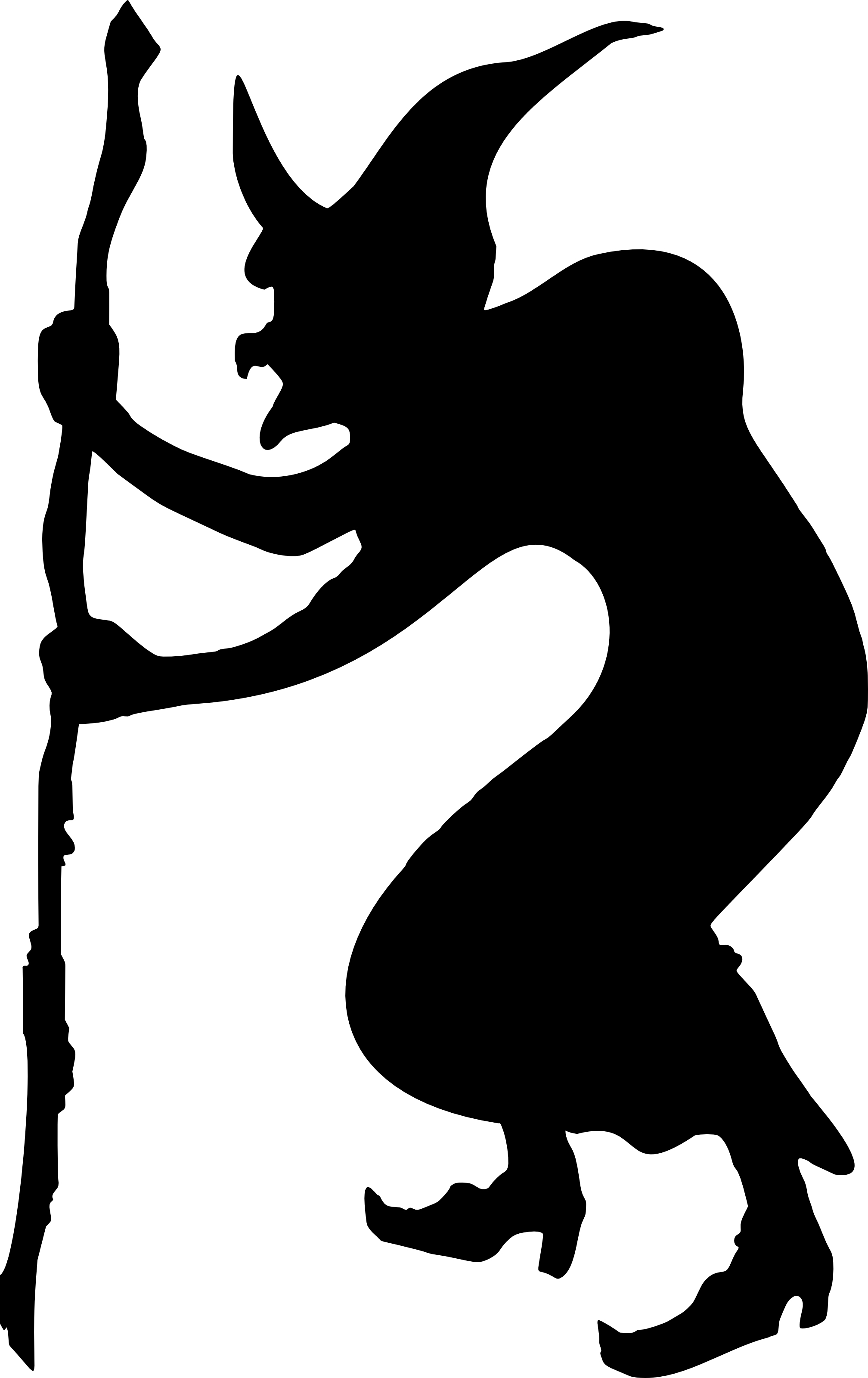 2016x3200 Female Witch