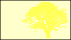 299x171 Tree, Yellow, Silhouette, Yellow Background Clip Art