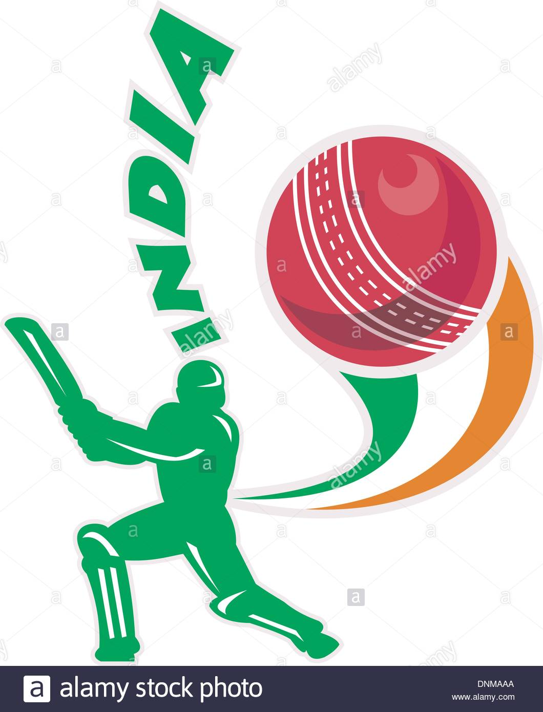 1060x1390 Illustration Of A Cricket Batsman Silhouette Batting Front View