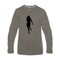 190x190 Woman Body Silhouette Vector Design By Tillhunter Spreadshirt