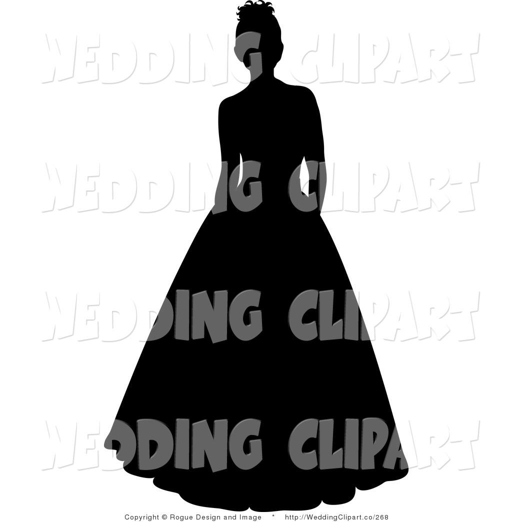 Silhouette Woman Dress