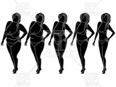 400x300 Five Stages Of Losing Weight Woman