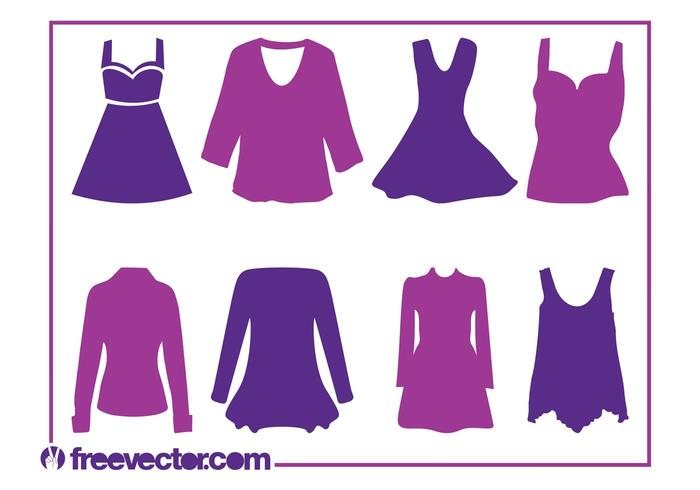 700x490 Women's Clothes Silhouettes
