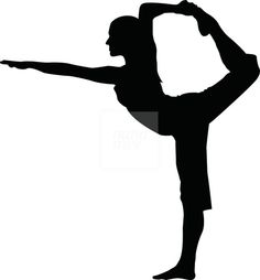 236x254 Yoga Poses Silhouettes. Stock Vector Anilin