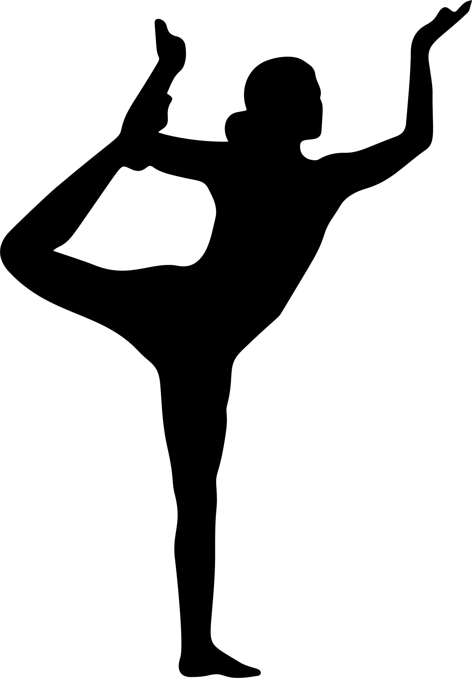 1620x2327 Female Yoga Pose Silhouette 18 Icons Png