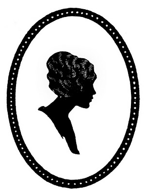 301x400 Antique Oval Frame Silhouette Clipart Panda