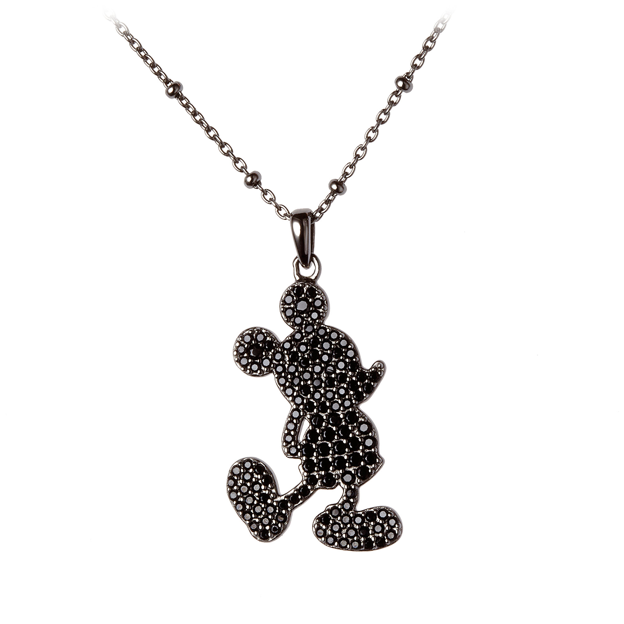 2000x2000 Mickey Mouse Silhouette Necklace By Rebecca Hook Shopdisney