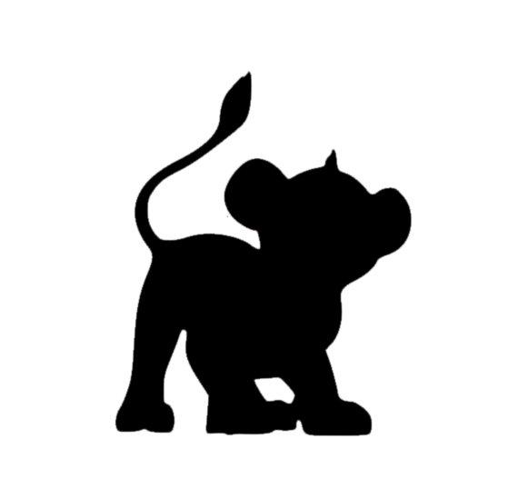 570x549 Simba Disney Magic Band Decal Disney Decal Disney Simba