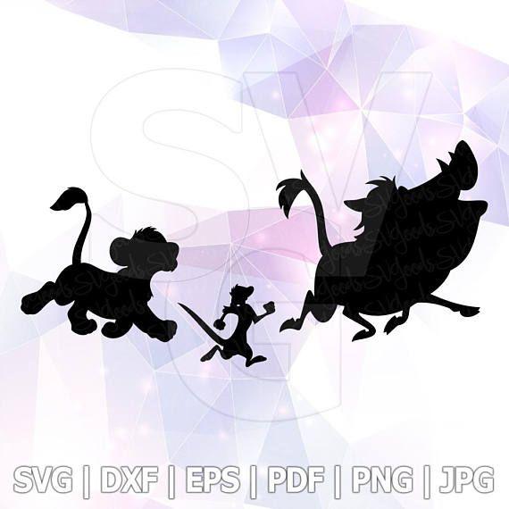 570x570 Hakuna Matata Lion King Timon Pumba Svg Dxf Eps Cut Files Cricut