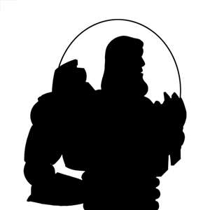 300x300 Toy Story Silhouette