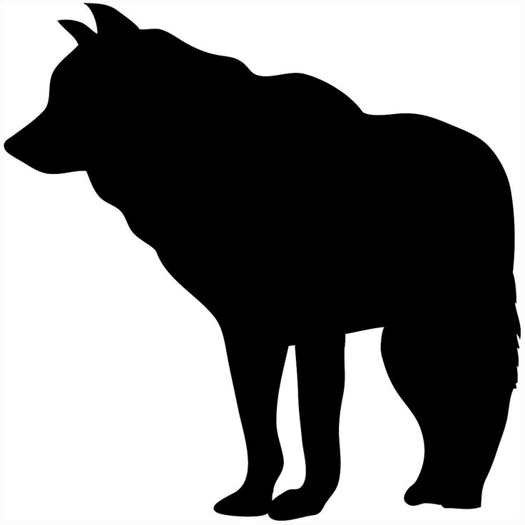 Simple Bear Silhouette