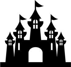 Simple Castle Silhouette