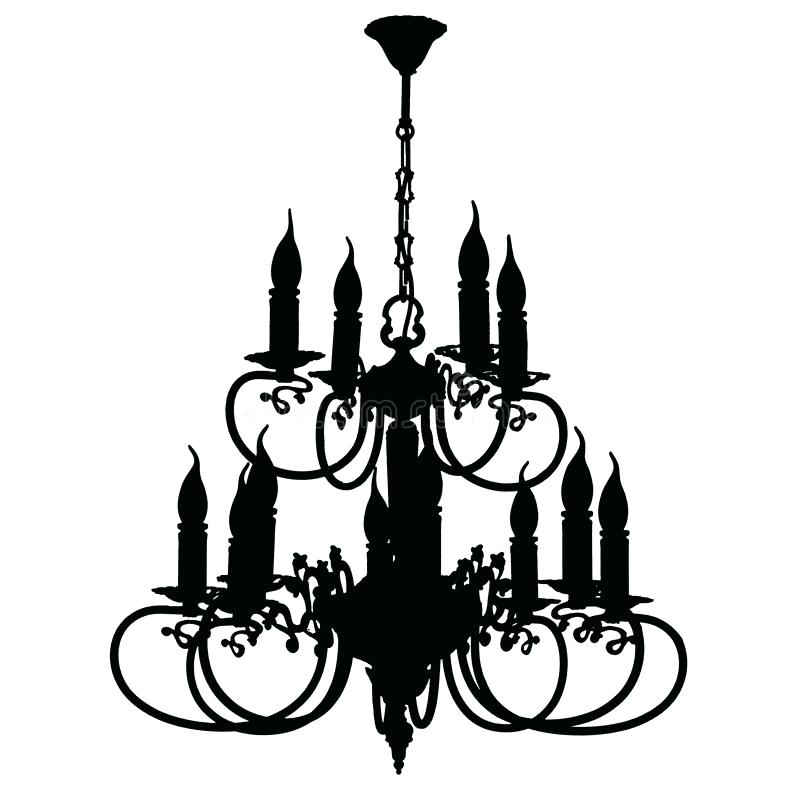 800x800 Silhouette Chandelier Together With Download Chandelier Silhouette