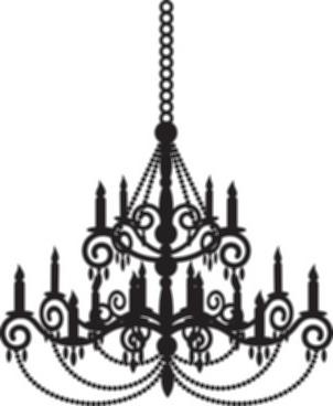 302x368 Chandelier Light Vector Ornate Chandelier Vector Silhouette Set