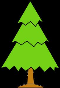 205x300 8036 Christmas Tree Silhouette Clip Art Public Domain Vectors