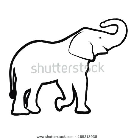 450x470 Extraordinary Ideas Elephant Head Outline Cat Coloring Pages 15