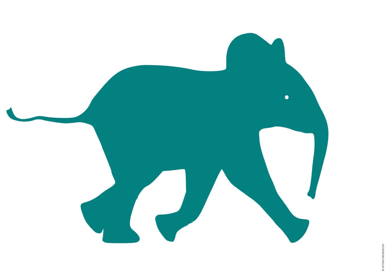1500x1061 Elephant Silhouette Clip Art