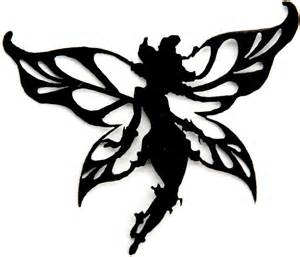graphic relating to Fairy Silhouette Printable known as Basic Fairy Silhouette at  Absolutely free for