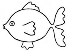 236x172 Easy Long Fish Drawings Fish Outline 3 Clip Art 4 H Projects