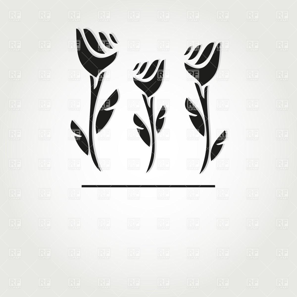 1200x1200 Simple Hand Drawn Flowers