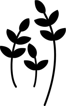 219x350 Easy Oopsy Daisy Flowers Template Stencil.