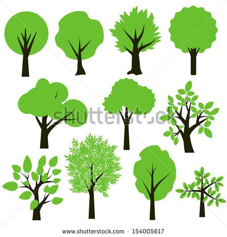 450x470 Image Result For Simple Tree Silhouette Kids Ideas