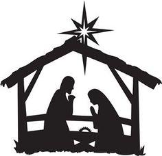 236x228 Image Result For Simple Nativity Scene Silhouette Copii