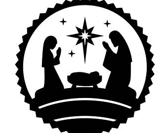 340x270 Nativity Vinyl Decal Etsy