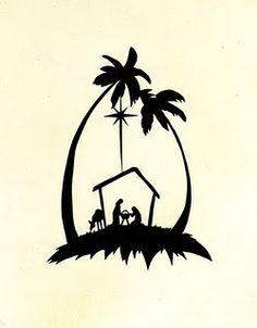236x302 Free printable nativity silhouette patterns Silhouette Nativity