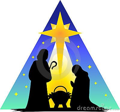 400x373 Free Outdoor Nativity Scene Pattern Downloadable Embroidery