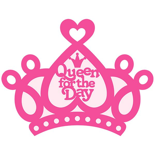 Simple Princess Crown Silhouette