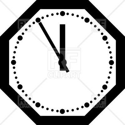 400x400 Office Clock