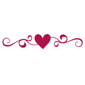 300x300 Interesting Heart Border My Little Pony Coloring Pages Silhouette