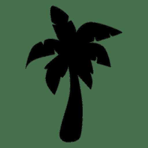 512x512 Simple Palm Tree Silhouette