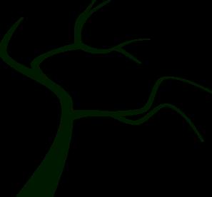 297x276 Dead Tree Silhouette Clip Art