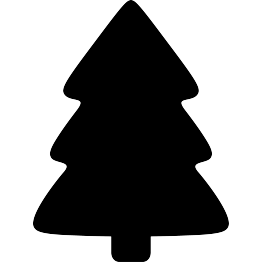 263x262 New Silhouettes Simple Christmas Tree, Sitting Bunny, And More