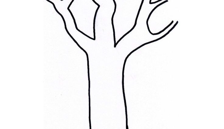736x425 Simple Tree Silhouette Google Search Crafts Comfortable